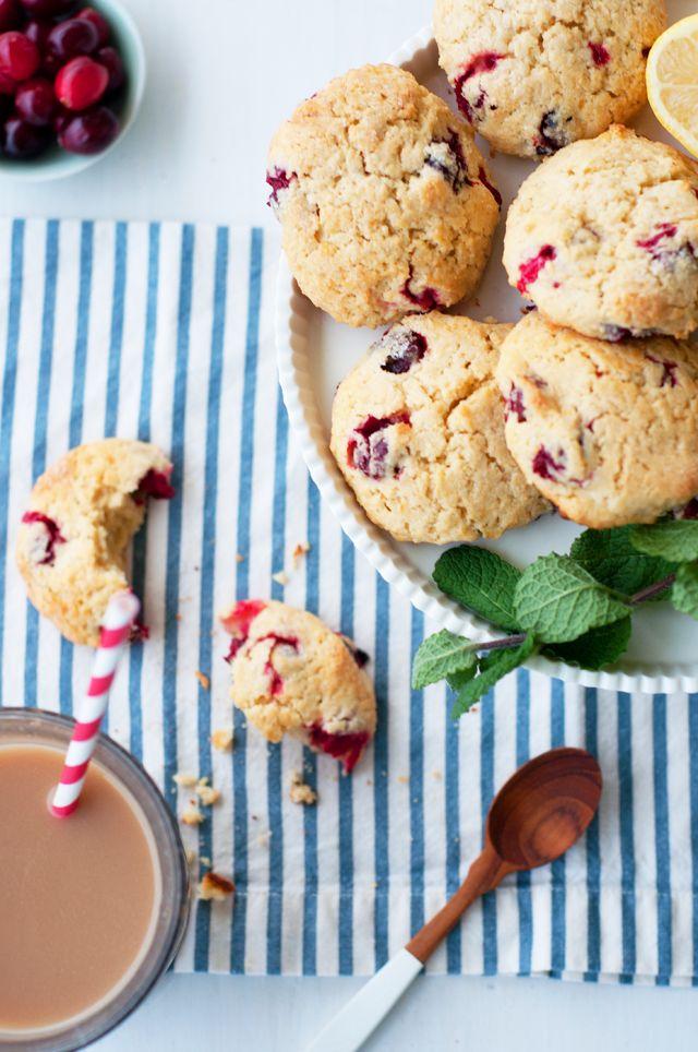 Marshalls Abroad: Lemon Cranberry Scones | Breakfast Noms | Pinterest
