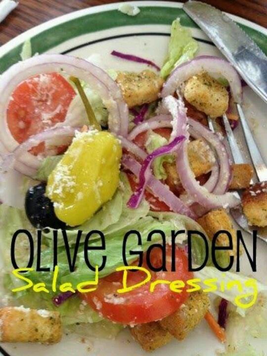 Copycat-Olive Garden Salad Dressing | Salads | Pinterest
