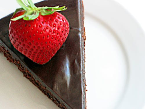 Almost-Fudge Cake | Guilty Pleasures | Pinterest