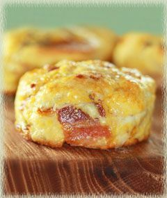 Maple Bacon Biscuits - from Huckleberry restaurant in Los Angeles.
