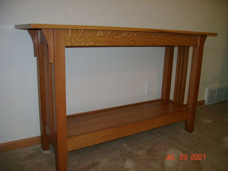 Book Sofa Table Woodworking Plans In Canada By Benjamin