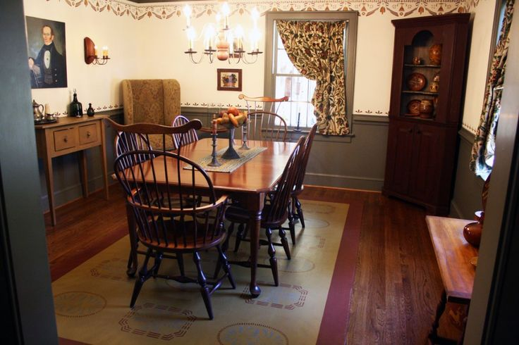 SMB Period Interiors | My Colonial-Primitive Dream House | Pinterest