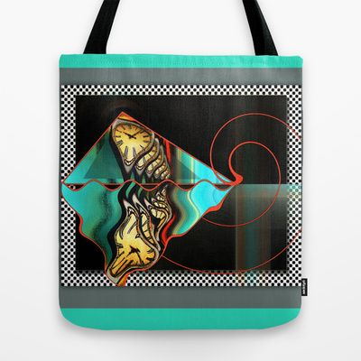 Pieces of Time Tote Bag by Brenda Starr - $22.00