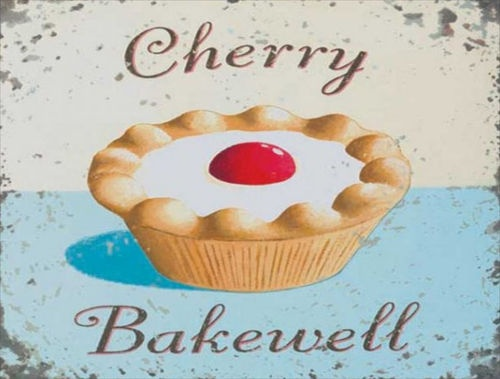 Cherry Bakewell Vintage Sign