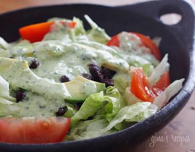 Creamy Cilantro Tomatillo Dressing This a keeper. Like Costa Vida