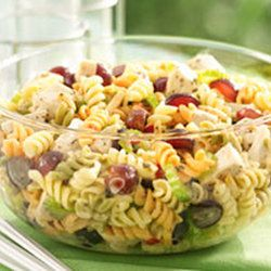 Chicken Pasta Salad with Grapes and Poppy Seed Dressing — Recipe ...