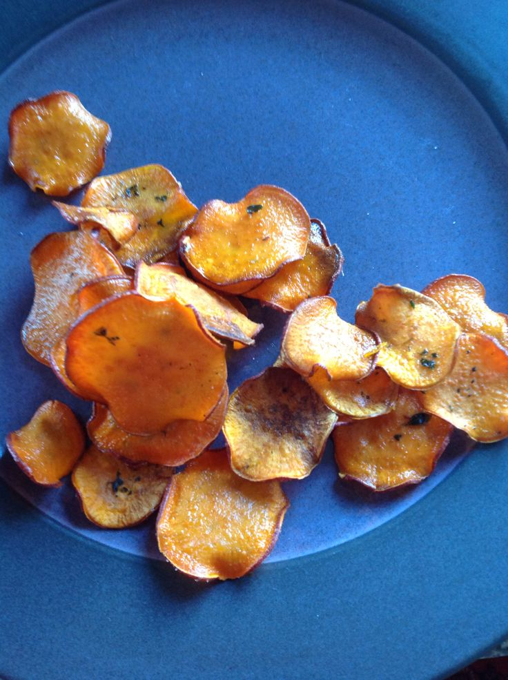 Sweet potato chips | Foodie dreams! | Pinterest