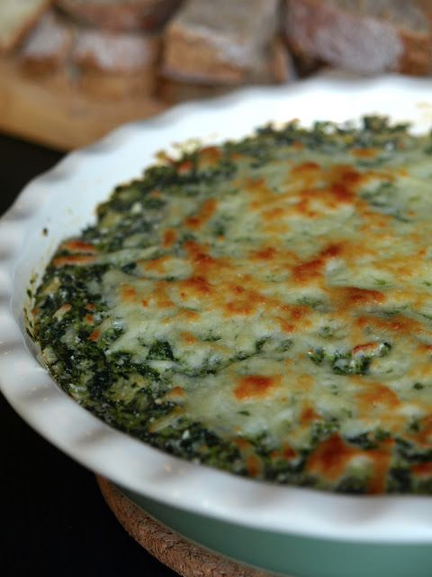 Baked Spinach & Artichoke Dip - Flick of the Whisk