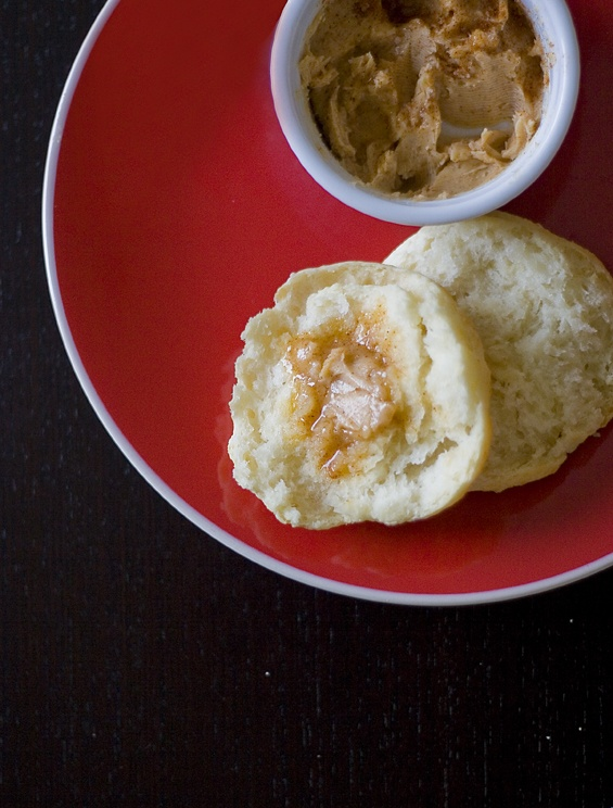 Homemade Buttermilk Biscuits with Smoky Sweet Butter | Local Lemons