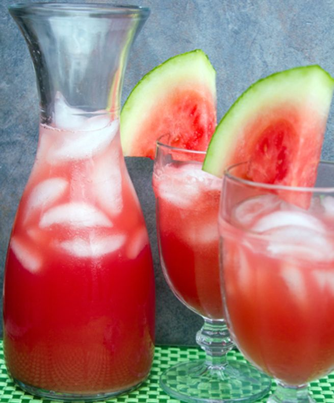 Watermelon-Agua-Fresca | Cheers! - Drink & Smoothie recipes | Pintere ...