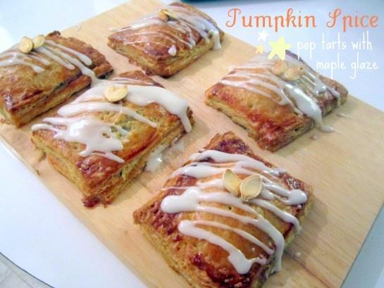 "Pumpkin Spice Pop Tarts with Maple Glaze via this blog, ""Victoria ..."
