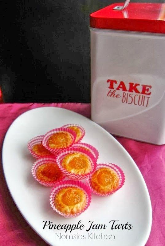 Pineapple Jam Tarts | Tarts and Pies | Pinterest