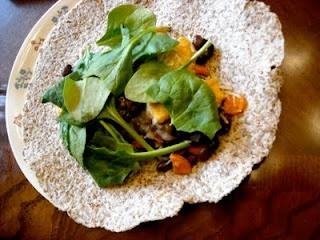 Red Pepper, Bean & Cheese Burrito | Foodie4Healing Originals | Pinter ...