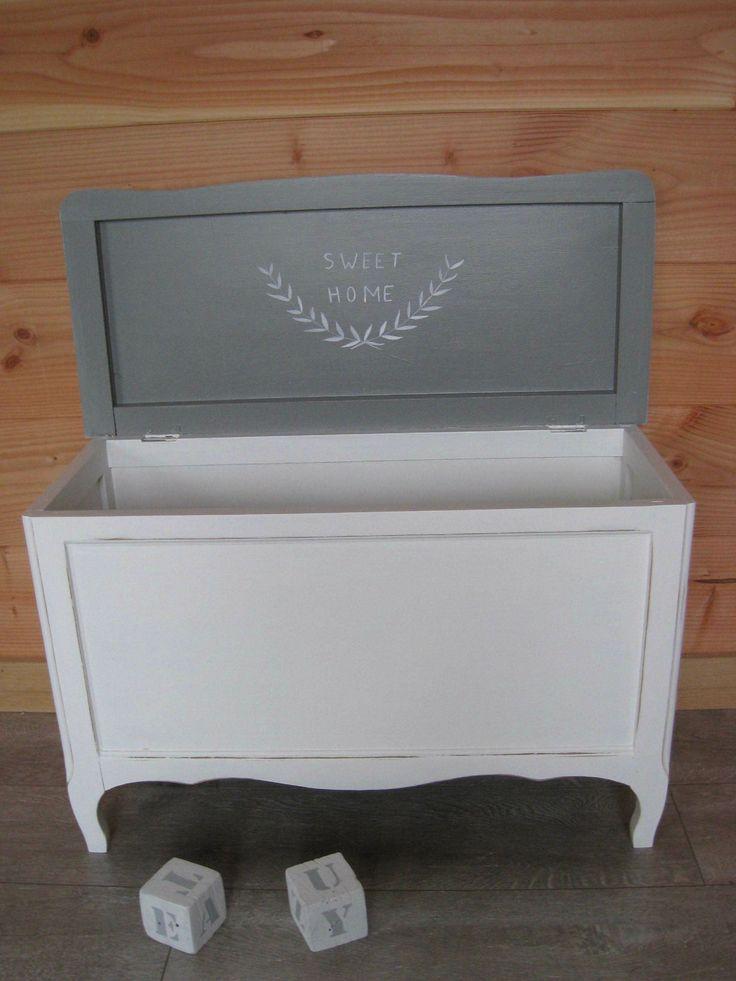 coffre jouet retaper forum d coration int rieure. Black Bedroom Furniture Sets. Home Design Ideas