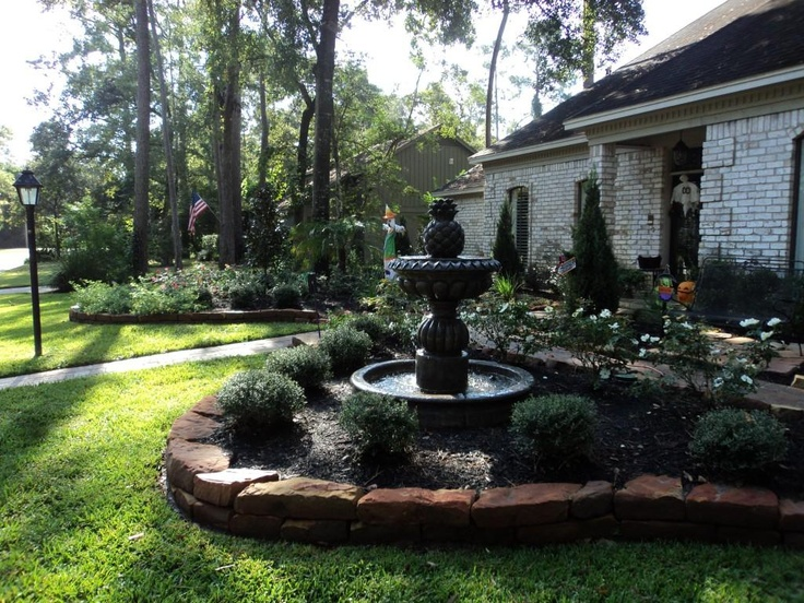 Beautiful front yard outdoor gardens pinterest for Beautiful front yards