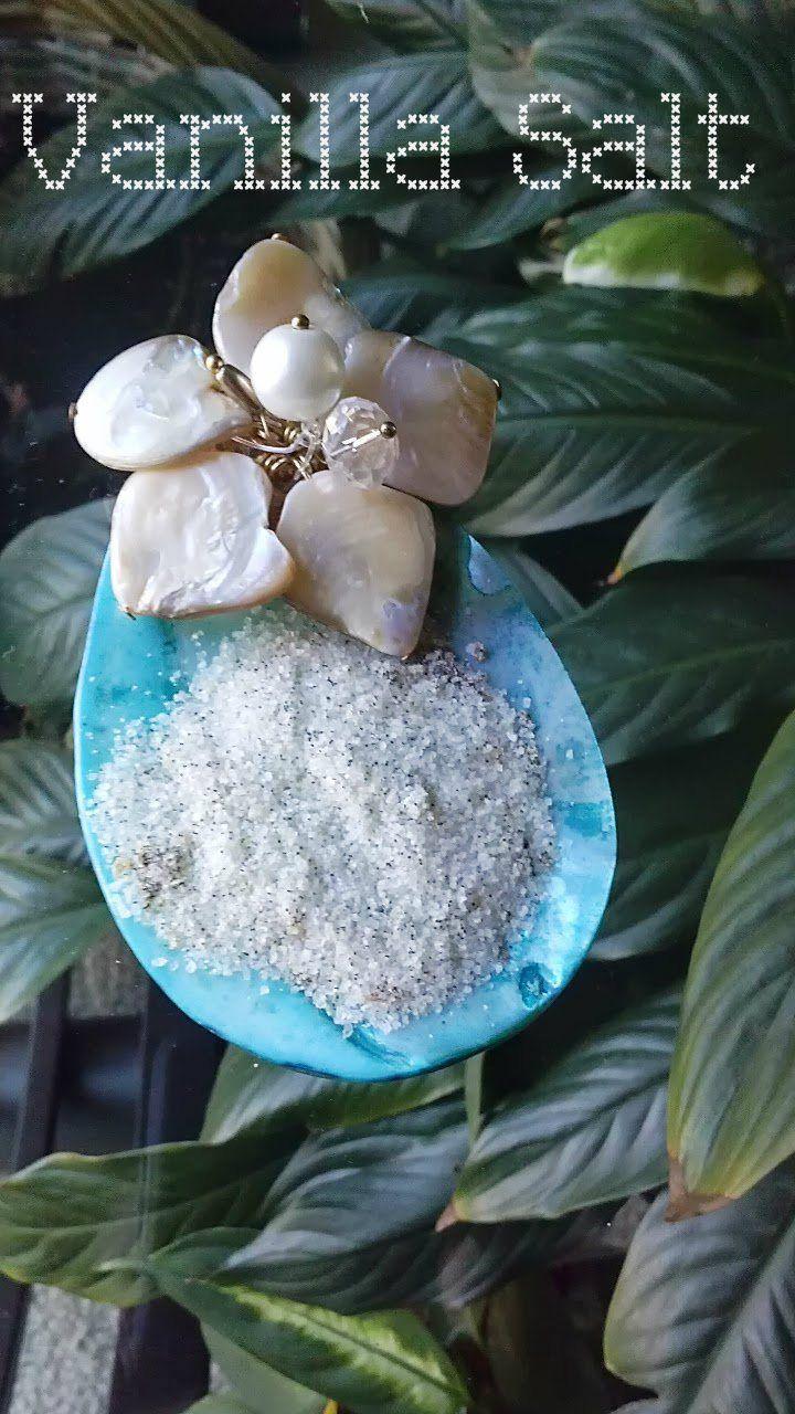 Vanilla Salt   Food stuff   Pinterest