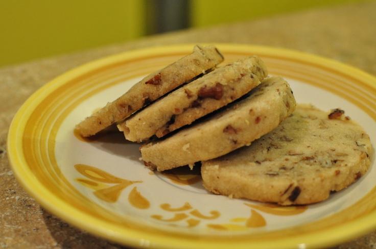 Browned Butter Pecan Shortbread cookies | Candy & Cookies | Pinterest