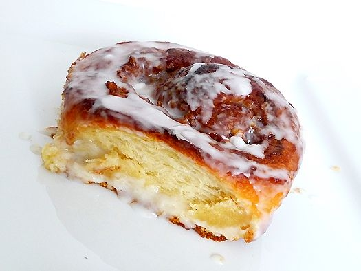 cream cheese cinnamon rolls--cream cheese in the dough, people! I am ...