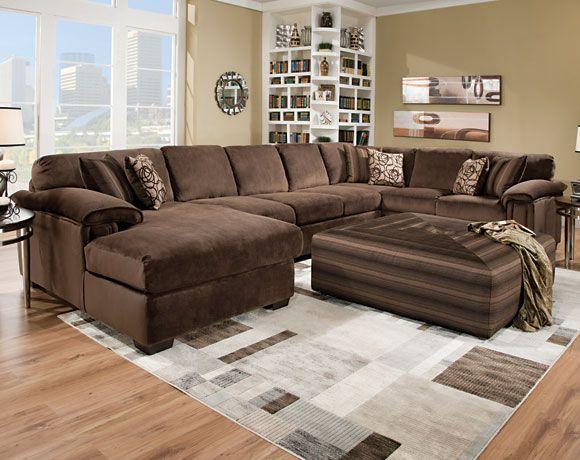 Rhino Beluga 3 PC Sectional Sofa Living Rooms American Freight Furniture