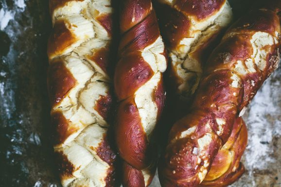 Small Batch: Pretzel Challah - Blog - Whole Foods Market Cooking ...