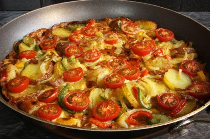 Spanish Omelette   food stuff   Pinterest