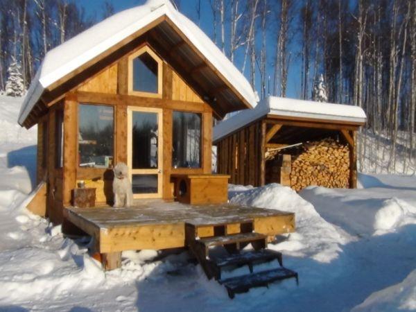 Timber Frame Cabin Hunting Shack Pinterest