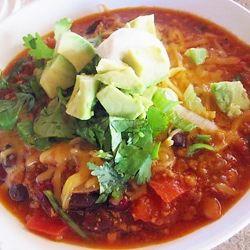 Three Bean Turkey Chili | Bon Appetit! | Pinterest