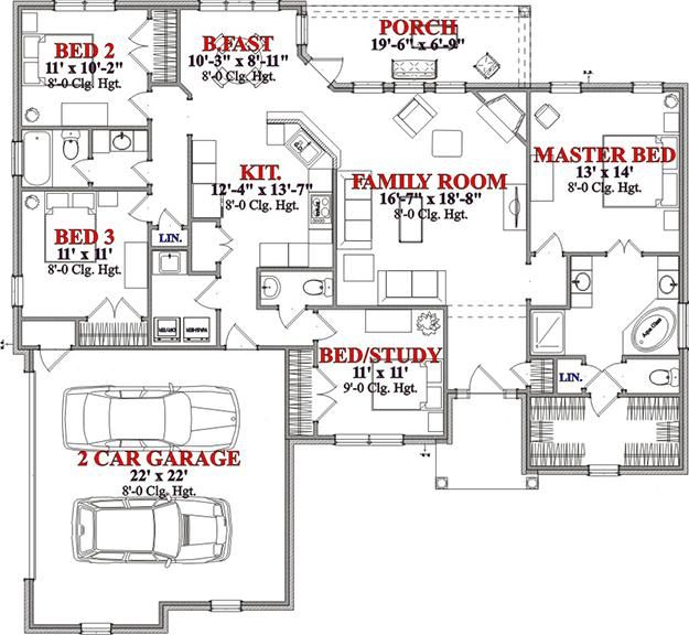 Over 1800 Sq Ft House Floorplans Pinterest