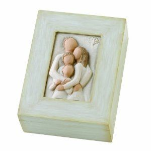 Wedding anniversary gifts:Willow Tree Family Memory Box