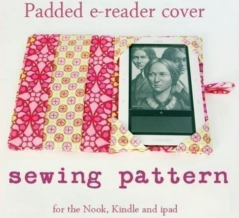 e-Reader Cover Pattern - License to Sell Covers You Make #sewing