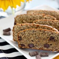 Banana Bomb Bread: gluten free, vegan deliciousness with chocolate ...