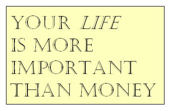 is money more important than your But they become increasingly more important as you get older  it's more important than ever for  don't just take the money and run.
