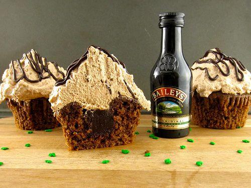 with Baileys Irish Cream ganache and Baileys Irish Cream whipped cream ...