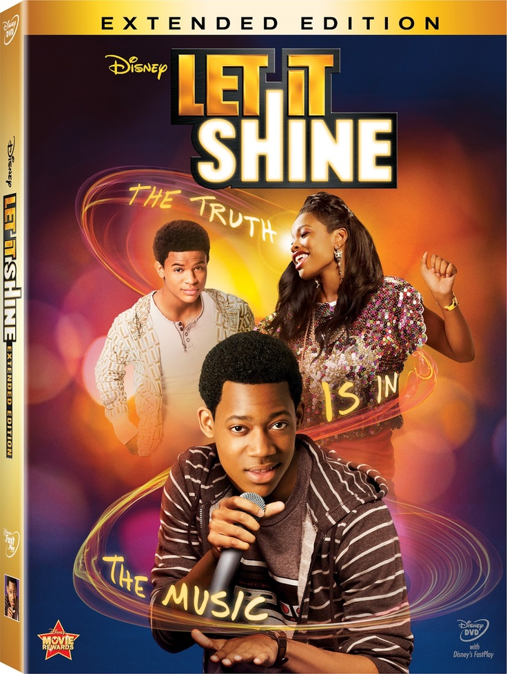 Let It Shine: Extended Edition on DVD - An All New Disney Original Movie!