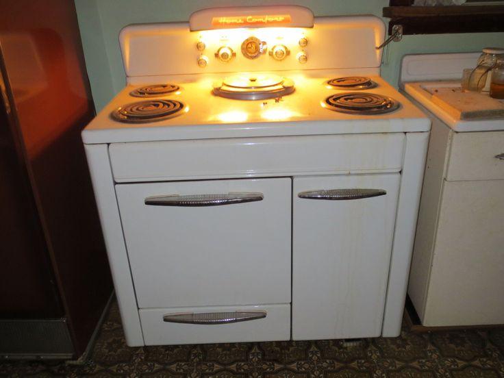 Vintage Electric Kitchen Stoves ~ Vintage antique home comfort e electric cooking