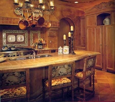 Western kitchen decor southwestern home pinterest for Western kitchen cabinets