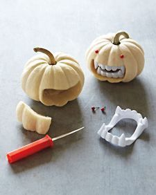 The easiest way to decorate a pumpkin ever!