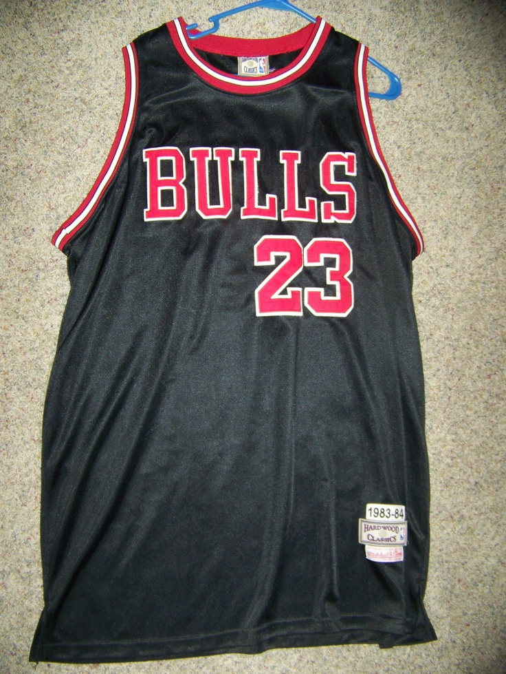 23 MICHAEL JORDAN Chicago Bulls NBA SG Black Authentic Jersey by