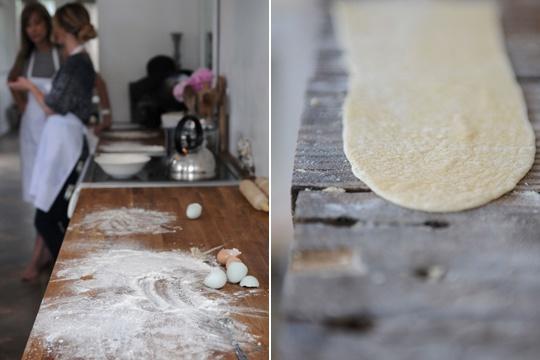 Homemade PastaRecipe via Kinfolk