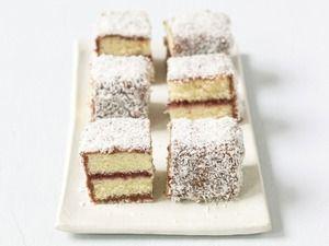 Shaun Hergatt's Lamington Bars   Sweetness   Pinterest