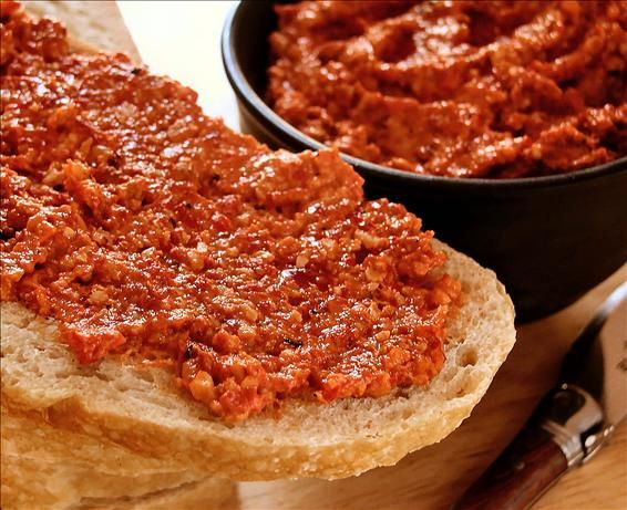 pepper and walnut dip paquillo peppers are best to use i serve with ...