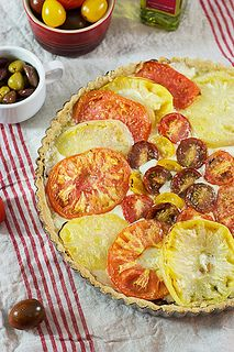 Caprese Tart with Olive Oil Crust | Savory Tarts and Quiches | Pinter ...