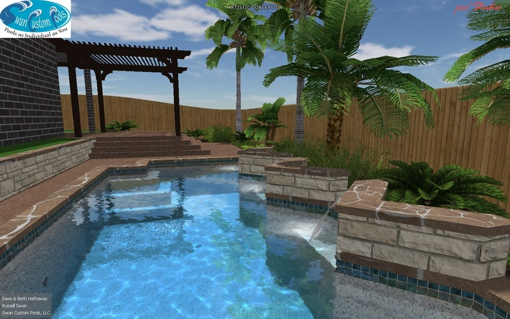 New Pool To Dig Swimming Pool Designs Pinterest
