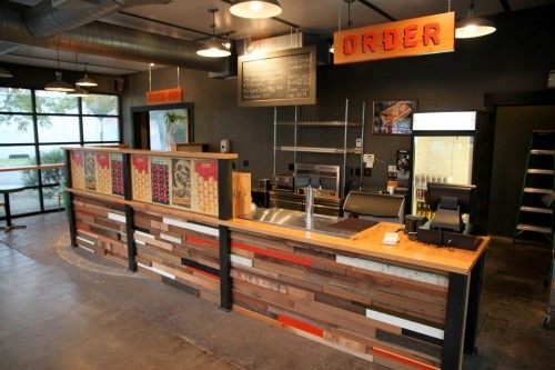 Bar Counter Design Industrial Design Pinterest