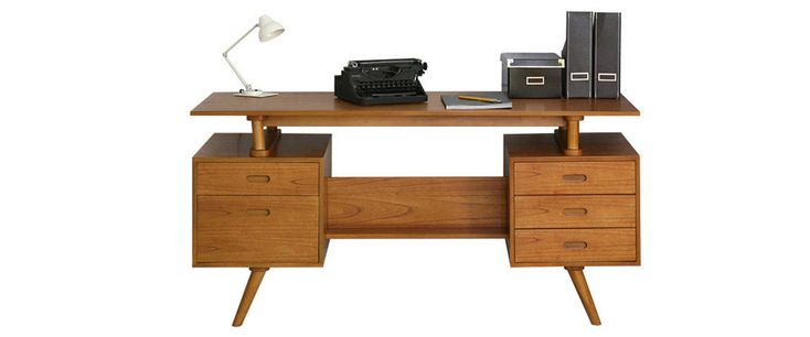 Don draper desk Classic office furniture