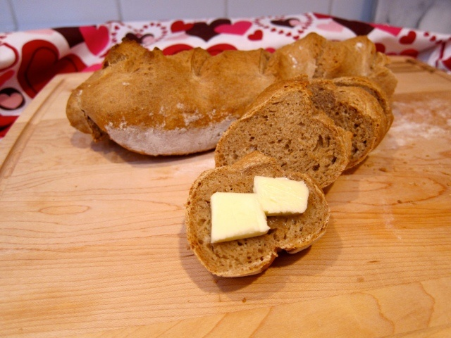 Whole wheat baguette   Yummy   Pinterest