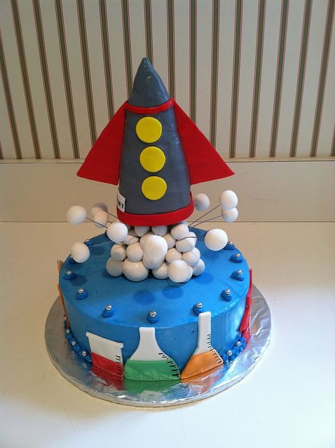 Science cake | Flickr - Photo Sharing!