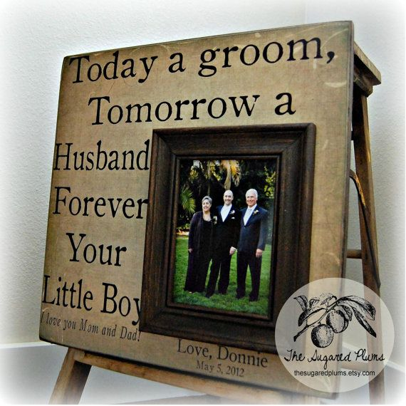 ... Wedding Gift Personalized Picture Frame by thesugaredplums, USD75.00