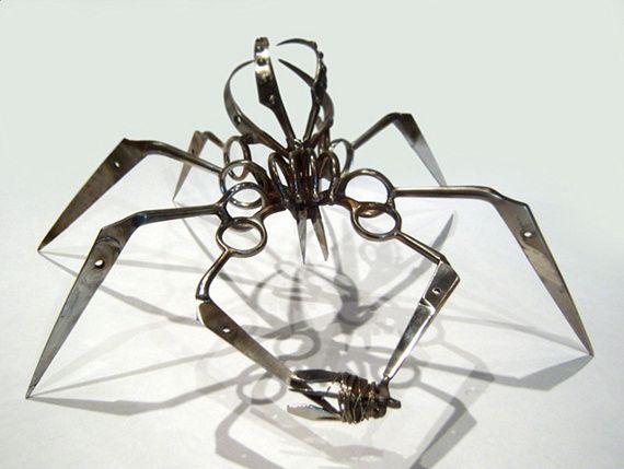 TSA Confiscated Scissor Spiders via @Incredible Things