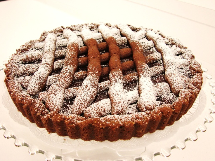 Chocolate Almond Linzer Torte.... an Austrian Pastry... www ...